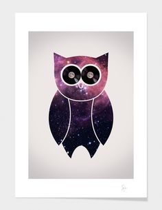 """""""Owl Night Long"""" - Numbered Art Print by Philip Skundric on Curioos"""