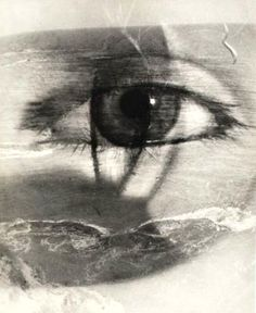 Maurice Tabard :: Eye and Beach, 1949
