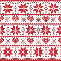 If you want to make Norwegian knitting pattern sweater, there are several things to do. Those are guiding you to create a right knitting product espec. Nordic Christmas, Christmas Knitting, Christmas Sweaters, Norwegian Christmas, Christmas Design, Red Christmas, Card Patterns, Cross Stitch Patterns, Knitting Patterns