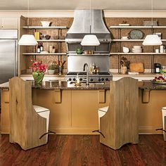 A kitchen that inspires conversation.