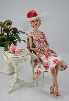 Not really a Barbie, but looking very much alike. Poppy Parker doll.