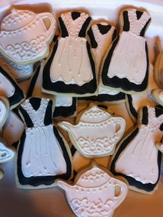 Downton Abbey party cookies
