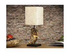 Lampa Stołowa Hypnotic beżowa — Lampy stołowe Invicta Interior — sfmeble.pl  #wood  #natural  #homedesign