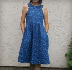 FREE SEWING PATTERN: Ayza Dress - On The Cutting Floor