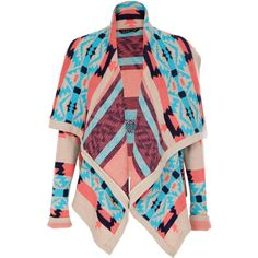 Miso Neon Navaho Cardigan. Perfect colors for SPRING