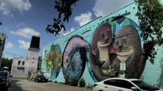 A Love Letter to the Great Lakes mural festival in Toronto was the first fresh water edition of PangeaSeed Foundation's Sea Walls: Murals for Oceans project,… Ocean Projects, Great Lakes, Love Letters, Urban Art, Fresh Water, Toronto, Lettering, World, Travel