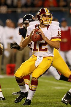 Kirk Cousins, Washington Redskins. C'mon Kirk. Let's do this today against the Eagles! Stepping up!