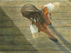 """""""Falling Lamp"""" (detail) by Tom Forrestall Alex Colville, Canadian Painters, Magic Realism, Northern Lights, Toms, Fine Art, Detail, Artist, Photos"""