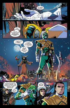 Mighty Morphin Power Rangers (2016) 00 Page 2