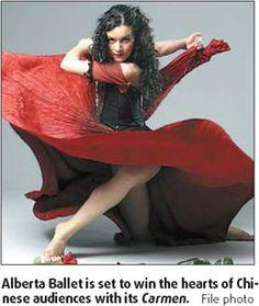 CARMEN by Alberta Ballet