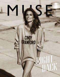 Fashion Foie Gras: Cindy Crawford covers Muse Magazine