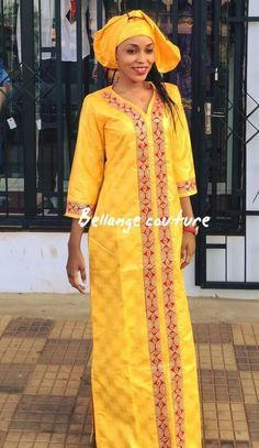 Mali fashion bazin brodé #BellangeCouture African Print Dresses, African Print Fashion, Africa Fashion, Tribal Fashion, African Fashion Dresses, African Dress, African Clothes, African Attire, African Wear