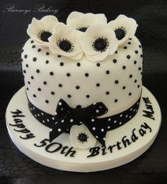 50 birthday cake. Love pois