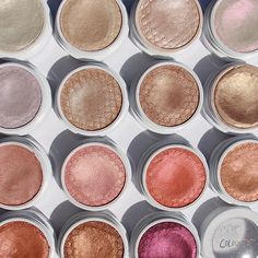 New coloupop cosmetics highlighters