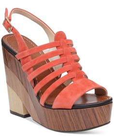 Vince Camuto Onia Platform Wedge Sandals