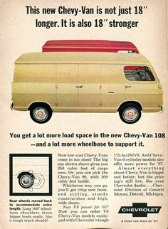 1967 Chevrolet Van Advertisement 108 Readers Digest January 1967 | Flickr - Photo Sharing!