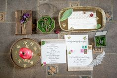 Fairytale Wedding Invitation Suite, Photo by Beth Veach, Design by Bella Baxter Events