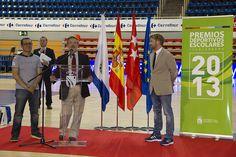 Entrega de las Becas Deportivas 2013 del Ayuntamiento de Fuenlabrada en el Pabellón Fernando Martín. (13/06/2013)