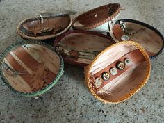 Birch bowls by Karen Poser