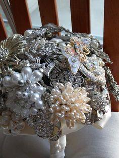 Brooch Bouquet ,but beautiful .