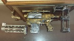 Steampunk Nerf Recon CS 6 Modified Mod Cosplay Humans Zombies Machine Age HVZ | eBay