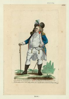 French Revolution Digital Archive: A ces traits on reconnait D. P. et O. bon patriote et l'ennemie juré des aristocrates, on lui doi... Caricature showing Danton