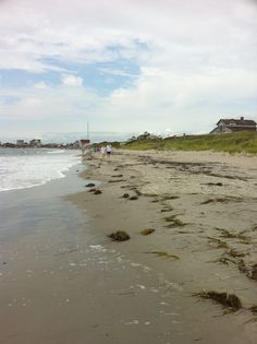 Walking the beach from Sand Hill Cove (Roger Wheeler Beach) to Salty Brine Beach in Galilee, Rhode Island...our favorite beach in the world.