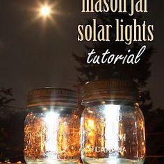 Mason Jar Solar Lights :: Hometalk