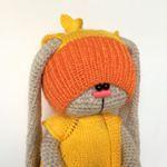 """221 Likes, 10 Comments - RYZHKOVA🐰TOYS (@ryzhkova.toys) on Instagram: """"#villy_vanilly_shop #weamiguru #вязание #амигуруми #вязанаяигрушка #вязаныйзаяц #knitting #crochet"""""""