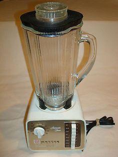 Vintage Waring Blender Solid State 70 Gl W Timer Antique Kitchen Liance Blend It Up Pinterest Blenders Kitchens And