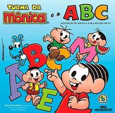 28 melhores imagens de Turma ABC Monica   Turma da mônica ...