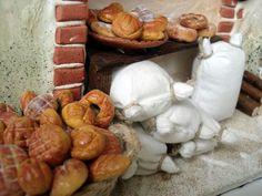 Horno de pan, detalle