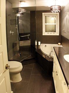 remodel small master bathroom ideas. small master bath designs. small ...