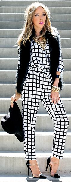 unique design jumpsuit for womens 2016 2017 - style you 7 Fashion 2017, Couture Fashion, Womens Fashion, Fashion Plates, Street Style Women, Dress To Impress, Autumn Fashion, Style Inspiration, My Style