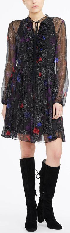 The floral printed Desi dress.