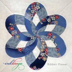 Inklingo Ribbon Flower