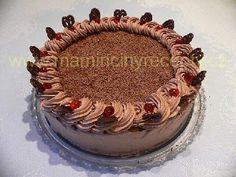 Třepací dort hnědý