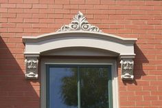 1000 images about remodel ideas on pinterest grey - Decorative trim above exterior windows ...