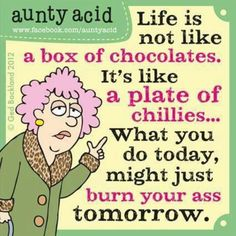 Today on Aunty Acid - Comics by Ged Backland Aunty Acid, Funny Jokes To Tell, The Funny, Hilarious, Funniest Jokes, Cute Quotes, Funny Quotes, Humor Quotes, Just For Laughs