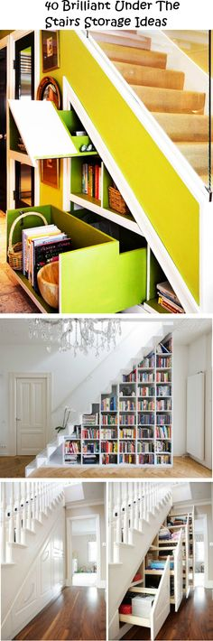 40 Brilliant Under The Stairs Storage Ideas