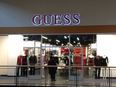 Guess Outlet Store.