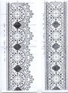 labor y picado Bobbin Lacemaking, Bobbin Lace Patterns, Needle Lace, Thread Work, Lace Making, Crochet Designs, Tatting, Needlework, Projects To Try