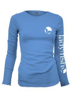 53ed41eb1d6 New - Ladyfish Original UPF long sleeve shirt - Columbia Blue Fishing  Girls