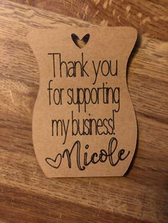 Business thank you cards - Thank You for Supporting my Business Tags (Personalized with your name) – Business thank you cards Business Thank You Cards, Thank You Tags, Craft Business, Business Names, Business Stickers, Thank You For Support, Bussiness Card, Pretty Packaging, Packaging Ideas