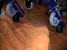 Parkinson Walker with Laser for People with Parkinson's Disease