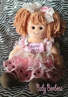 Hey, I found this really awesome Etsy listing at https://www.etsy.com/listing/207290485/babys-first-baby-doll-personalized-doll