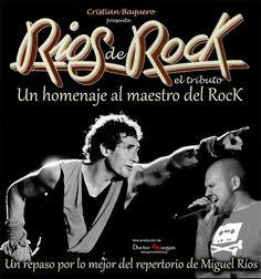 Concierto Ríos de Rock (tributo a Miguel Ríos)