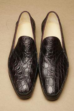 Croc loafer, deer lining