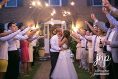 Add some sparkle to your wedding! How to do a sparkler send-off!