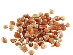 Homankit 220 g Trommelstein poliert rot Aventurin Trommelsteinen Edelsteine klein Bulk natur Kristall Reiki Healing